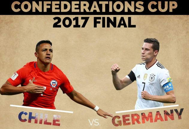 Chile vs Germany Finals