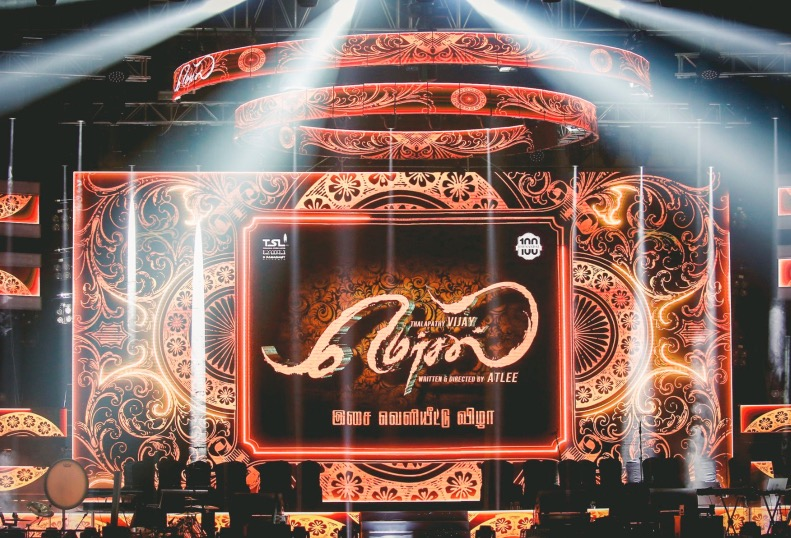 Mersal Audio Launch Live Streaming