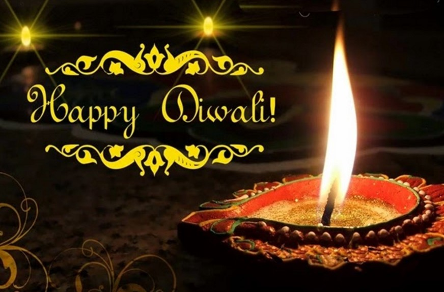 Happy Diwali Greeting Card and messages in Kannada