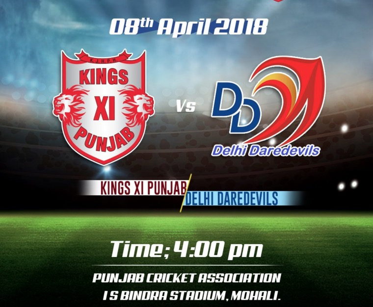 DD vs KXIP Live Streaming Online