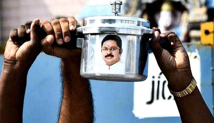 TTV Dhinakaran's AMMK denied 'pressure cooker' election symbol by Supreme Court