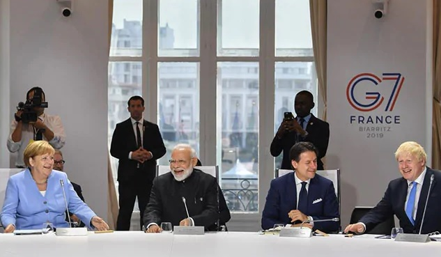 PM Narendra Modi at G7 Summit