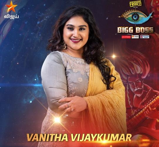 bigg boss tamil vanitha